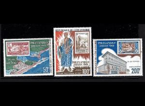 Elfenbeinküste: 1969, Briefmarkenausstellung Philexafrique (Motiv Marke auf Marke)