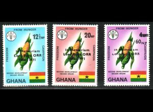 Ghana: 1971, John Boyd-Orr (Friedensnobelpreisträger)