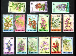 Malawi: 1979, Freimarken Orchideen