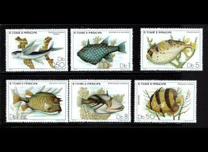 Sao Thomé und Principe: 1979, Fische