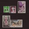 """Algerien: 1962, Freimarken-Überdruckausgabe mit Maschinenstempel """"EA"""" auf französischen Marken"""