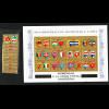 Honduras: 1975, Weltpostverein UPU (Satz und Blockausgabe: Motiv Flaggen)