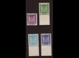 Neuseeland: 1967, Stempelmarken Staatswappen (mit WZ 8, bessere Type in Linienzähnung)