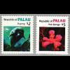 Palau-Inseln: 1984, Freimarkenergänzungswerte Meerestiere 2 und 5 $