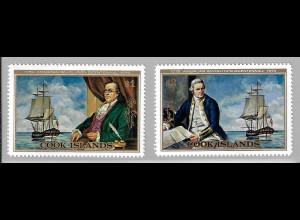 Cook-Inseln: 1976, 200 Jahre Unabhängigkeit USA (Motiv: Alte Segelschiffe)