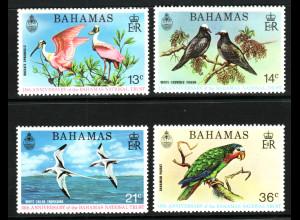 Bahamas: 1974, Umweltschutz (Motiv Vögel)