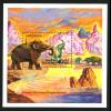 Tansania: 1991, Blockausgabe Elefanten (Mammut)