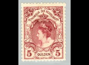 Niederlande: 1898, Königin Wilhelmina 5 Gld.