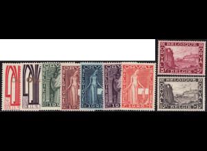 Belgien: 1928, Wiederaufbau Abtei Orval (M€ 240,-)