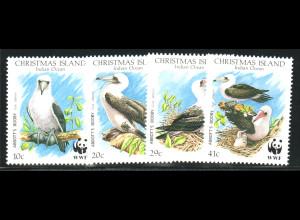 Weihnachtsinseln: 1990, Abbottstölpel (WWF-Ausgabe)