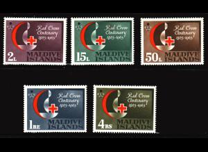 Malediven: 1963, Rotes Kreuz