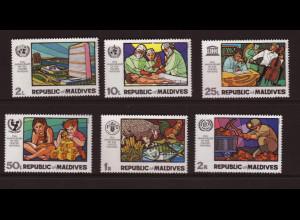 Malediven: 1970, 25 Jahre UNO