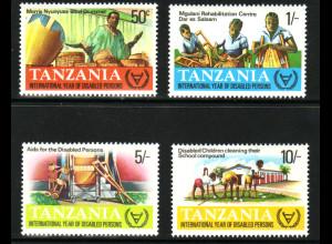 Tansania: 1981, Internationales Jahr der Behinderten