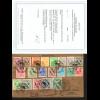 Bizone: 1945, AM-Post deutscher Druck, Satzbrief, Fotoattest BPP