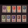 Mexiko: 1940, 100 Jahre Briefmarken (postfrisch, Katalognotierung in Höhe von Euro 130,- ist für Falz, Kat.-Nr. 789/90 mit Gummifehlern)