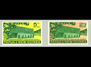 Papua Neuguinea: 1961, Haus des gesetzgebenden Rates