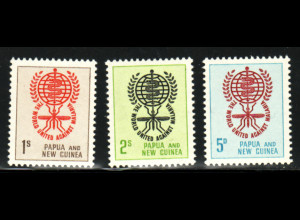 Papua Neuguinea: 1962, Kampf gegen die Malaria