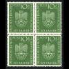 1953, Deutsches Museum (Viererblock, M€ 120,-)