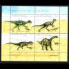 Argentinien: 1998, Kleinbogen Dinosaurier
