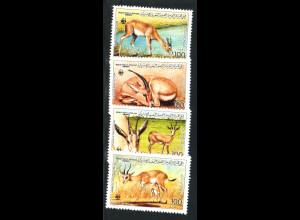 Libyen: 1987, Dünengazelle (WWF-Ausgabe)