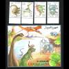 Somalia: 1993, Dinosaurier (Satz und Blockausgabe)