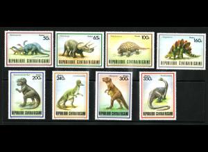 Zentralafrikanische Republik: 1988, Dinosaurier