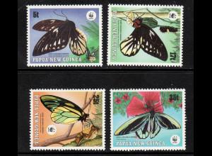 Papua Neuguinea: 1988, Vogelfalter (WWF-Ausgabe)