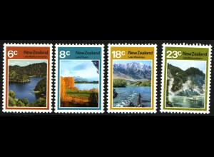 Neuseeland: 1972, Landschaften: Seen