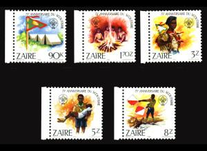 Kongo / Zaire: 1982, Pfadfinder