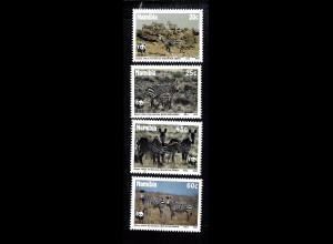 Namibia: 1990, Bergzebra (WWF-Ausgabe)