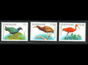 Surinam: 1985, Freimarken Vögel