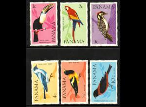 Panama: 1965, Vögel