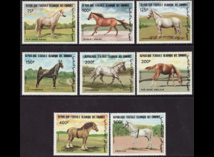Komoren: 1983, Pferde