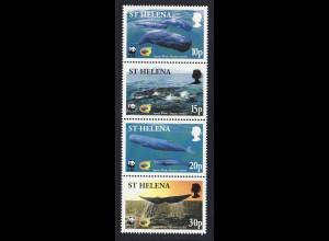 St. Helena: 2002, Pottwal (WWF-Ausgabe)