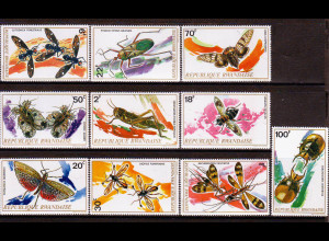 Ruanda: 1973, Insekten