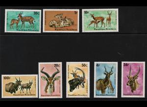 Ruanda: 1975, Antilopen