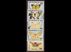 Mali: 1979, Schmetterlinge