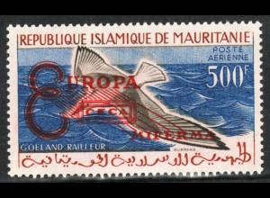 Mauretanien: 1962, Überdruckausgabe Weltbank in besserer Type I