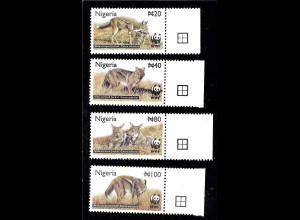 Nigeria: 2003, Streifenschakal (WWF-Ausgabe)