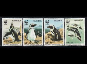 Namibia: 1997, Brillenpinguin (WWF-Ausgabe)