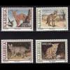 Namibia: 1997, Kleine Raubkatzen