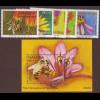 Namibia: 2004, Honigbiene (Satz und Blockausgabe)