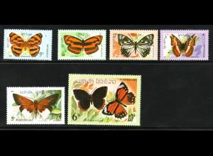 Laos: 1982, Schmetterlinge