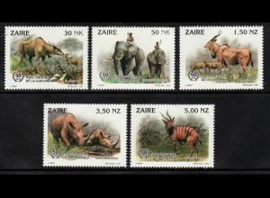 Kongo / Zaire: 1993, Kap-Elenantilope (WWF-Ausgabe)