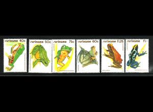 Surinam: 1981, Frösche