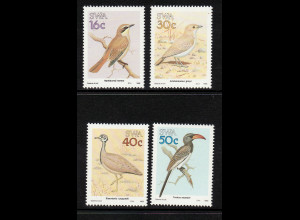 Südwestafrika: 1988, Vögel