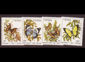 Venda (Südafrikanisches Homeland): 1980, Schmetterlinge