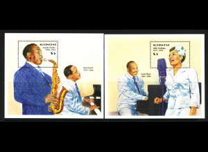 St. Vincent: 1989, Blockpaar Jazzmusiker