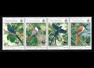 Seychellen: 1996, Seychellen-Paradiesschnäpper (WWF-Ausgabe)