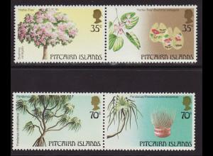 Pitcairn: 1983, Bäume (Zusammendruckpaare)